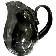 Lovely 44 ounce Clear Glass Swedish Pitcher