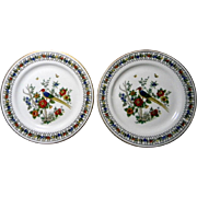 2 Syracuse China Somerset Pattern Dessert Plates