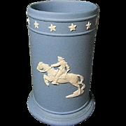 Wedgwood Soft Blue Spill Vase w/ Paul Revere