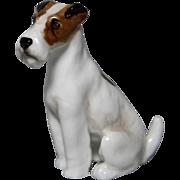 Royal Doulton Sitting Fox Terrier