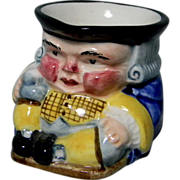 Small Clarice Cliff Tony Philpotts Toby Jug or Sugar Bowl