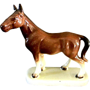 Nice Bay Mare Horse Figurine