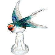 Crown Staffordshire  Swallow designed by J.T. Jones #29 A