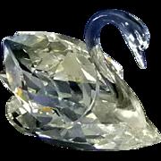 Brilliant Swarovski Crystal Large Swan  # 7159