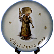 1972 Hummel Christmas Plate