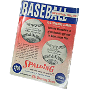 1959 Baseball Official Guide