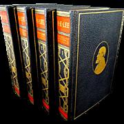 Biography of Robert E. Lee 4 Volume Set by D.S.Freeman
