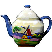Beautiful Hand Painted 6 Cup Teapot