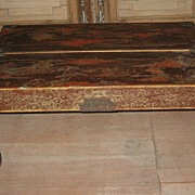 Exquisite 18th century Chinese Lacquered Portable Low Table