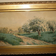 Watercolor Painting by Philip Edward Chillman