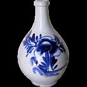 Antique Japanese Ceramic Tokkuri Saki Bottle