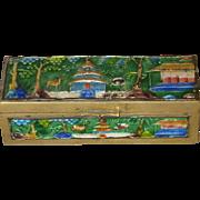 Beautiful Chinese Enamel Box