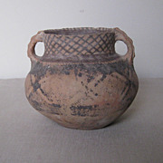 Chinese Small Neolithic Pottery Jar