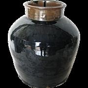 Large Chinese Henan Glazed Porcelain