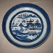 19th C. Chinese Porcelain Blue & White Bowl