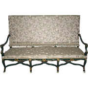 Marvelous Mid-20th Century Venetian Settee
