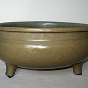 SALE PENDING Chinese Yuan Celadon Glazed Bowl