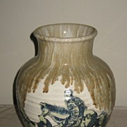 Early 20th C. Japanese Studio Pottery Vase