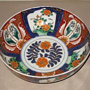 Japanese 19th C. Imari Bowl
