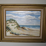 Seascape of Jacksonville Oil Painting