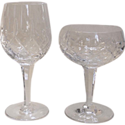 Royal Doulton Belvedere Crystal Stemware Wine Glass Sherbet Champagne Goblet
