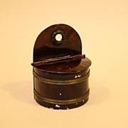 Rare Miniature Kitchen Salt Container - By Rock & Graner