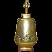 REDUCED Art Deco Bronze Table Lamp