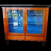 Biedermeier Cherry Wood Cabinet