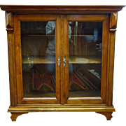 Austrian Fruitwood Small Cabinet, 19th Century