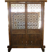 Exotic Chinese Teak Garden Gate