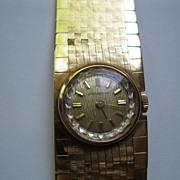 18KT Gold 50 gr Vintage JUVENIA Watch Excellent Condition