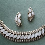 Vintage Bracelet and Clip Earrings Set