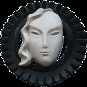 Art Deco Early Plastic Fur Clip