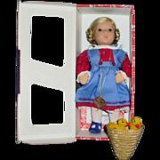 1994 Vintage 10.5 Inch Kathe Kruse Doll Annemarie 25H MIB