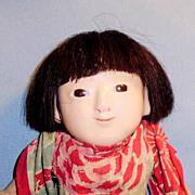 "9"" Japanese Ichimatsu Doll in Kimono"