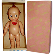 SOLD Vintage 9 in HP Knickerbocker Kewpie by Rose O Neill MIB - Red Tag Sale Item