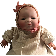 10 Inch Putnam Antique German Bye Lo Baby Doll