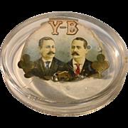 Antique Advertising Y-B Cigar Ashtray