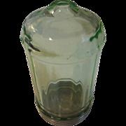 Rage green depression glass Sugar shaker