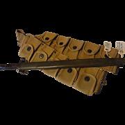 Vintage military ammo belt Marine and Remington bayonet in orig sheath Springfield bayonet