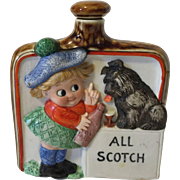 German Shafer and Vater All Scotch Liquor Flask
