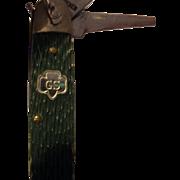Vintage Kutmaster Girl Scout 4 blade pocket knife