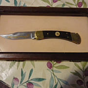 REDUCED Ducks Unlimited 50 Th.  Wetlands buck knife in case