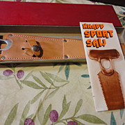 SOLD Knapp bone saw in orig box & papers never used