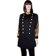 Men's Antique (Circa 1905) Japanese Imperial Army Partial Dress Uniform