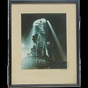 Paul Auguste Briol (1889 - 1969) Ohio Cincinnati Photographer Tyler Davidson Fountain Original