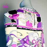 SOLD Vintage Emilio Pucci Silk Jersey Top *Sz 10