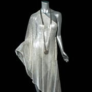 SOLD 1920's Assuit Shawl Large Exceptional