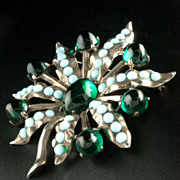 SOLD Eisenberg Original Sterling Masterpiece Large Brooch  Brunialti Book Cover