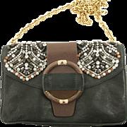 SALE Valentino Caravan Beaded Handbag Purse